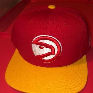 Atlanta Hawks Mitchell and ness SnapBack Hat